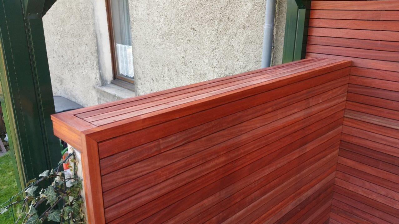 oplossing houten gevel