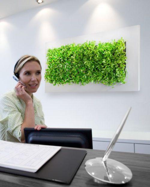 Groen kantoor