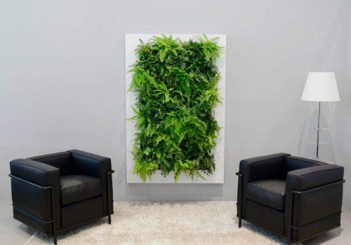 Groen wachtkamer