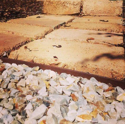 Corten staal kantopsluiting