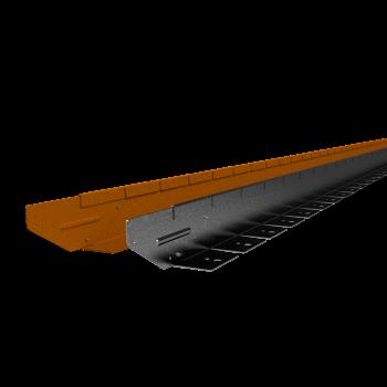 Flexline 75 mm. - Kantopsluiting voor vloeiende lijnen