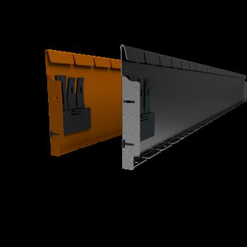 Flexline 240 mm. - Rand voor vloeiende lijnen