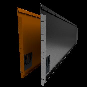 Flexline 560 mm. - Rand voor vloeiende lijnen