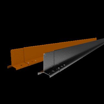 Hardline 100 mm. - Kantopsluiting voor rechte lijnen