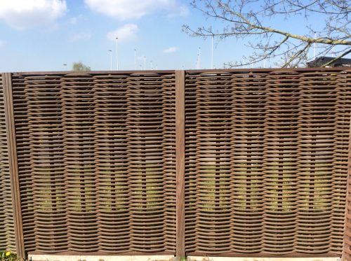 Panel+ Ecowood enkele vlechting