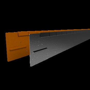 Flexline 150 mm. - Kantopsluiting voor vloeiende lijnen