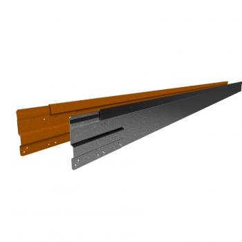 Rigidline 100 mm. - Kantopsluiting voor strakke lijnen