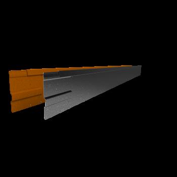Rigidline 150 mm. - Kantopsluiting voor strakke lijnen